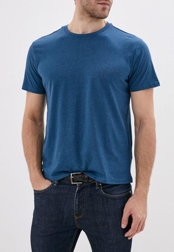 мужская футболка с коротким рукавом sela, бирюзовая