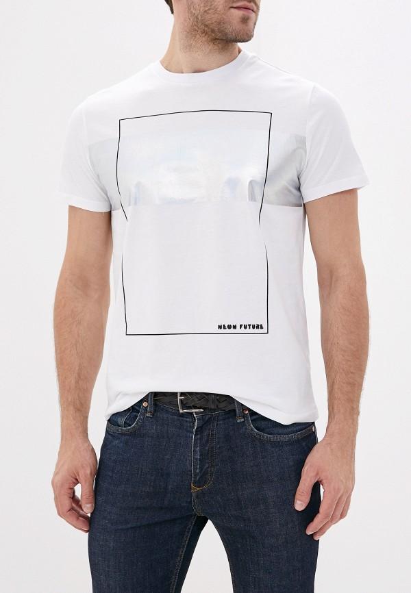 мужская футболка с коротким рукавом sela, белая