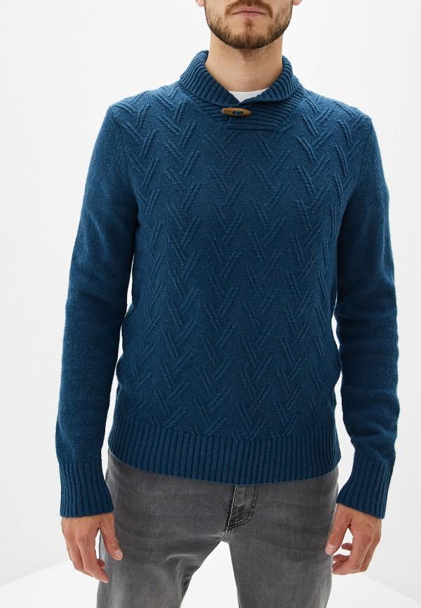 Фото - мужской свитер Sela синего цвета