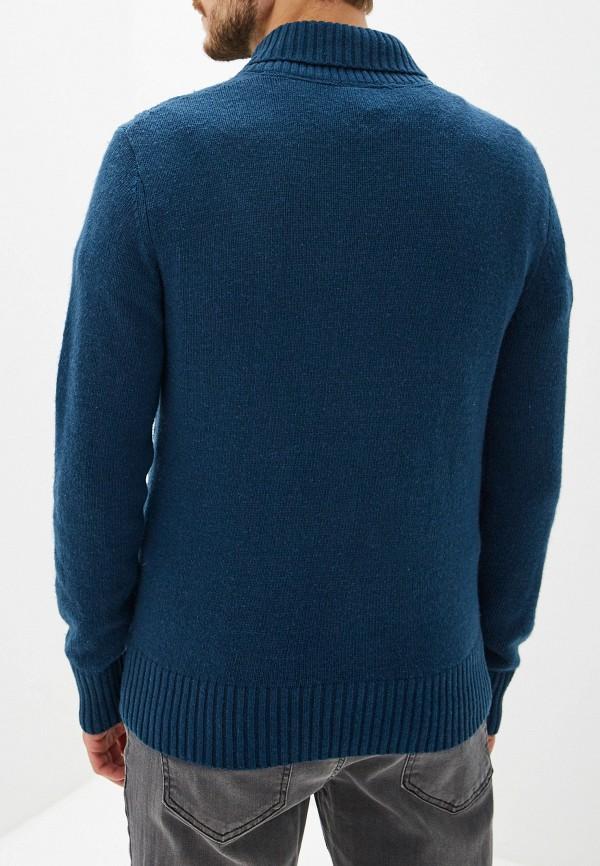 Фото 3 - мужской свитер Sela синего цвета