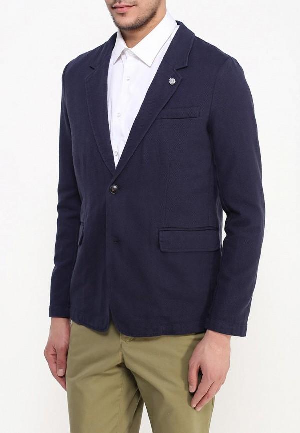 мужской пиджак sela, синий