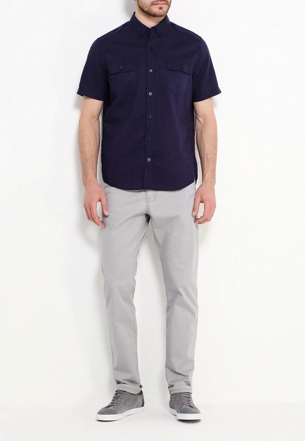 Фото 2 - мужскую рубашку Sela синего цвета