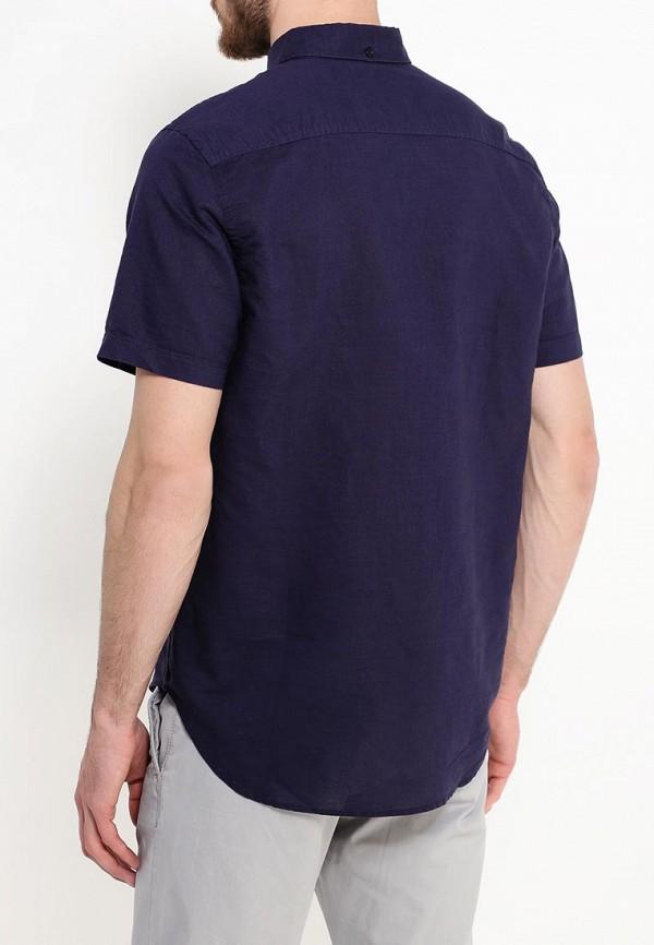 Фото 3 - мужскую рубашку Sela синего цвета