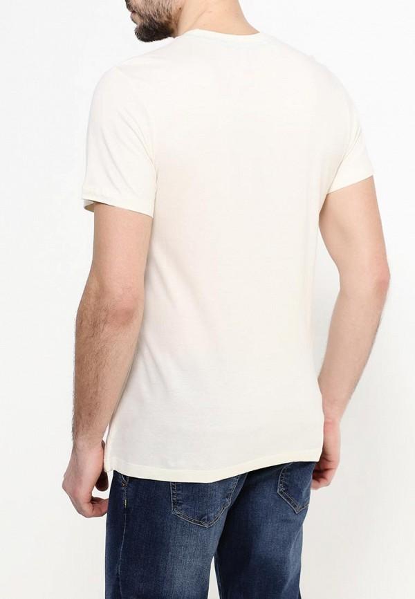 Фото 3 - мужскую футболку Sela бежевого цвета