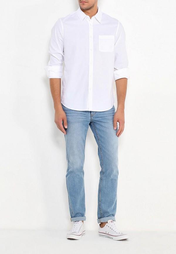 Фото 2 - мужскую рубашку Sela белого цвета