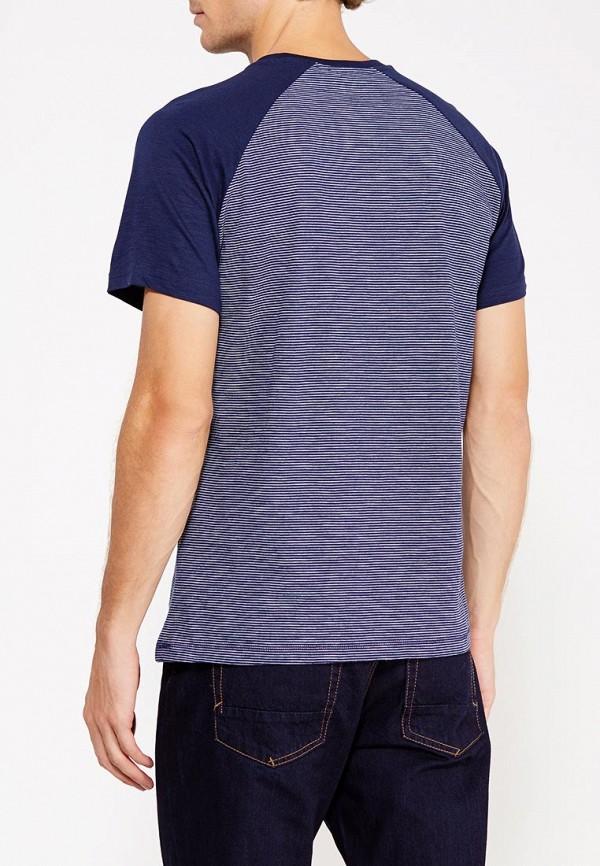Фото 3 - мужскую футболку Sela синего цвета