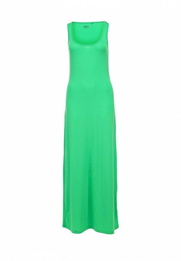 Фото - женское платье Sela зеленого цвета