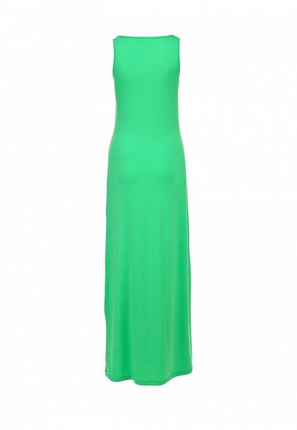 Фото 2 - женское платье Sela зеленого цвета