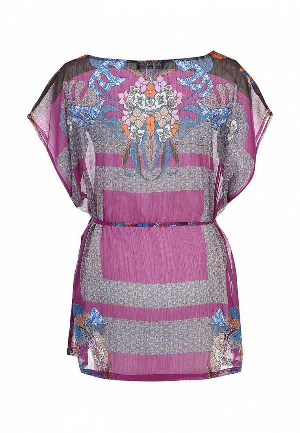 Фото 2 - Блузу Sela фиолетового цвета