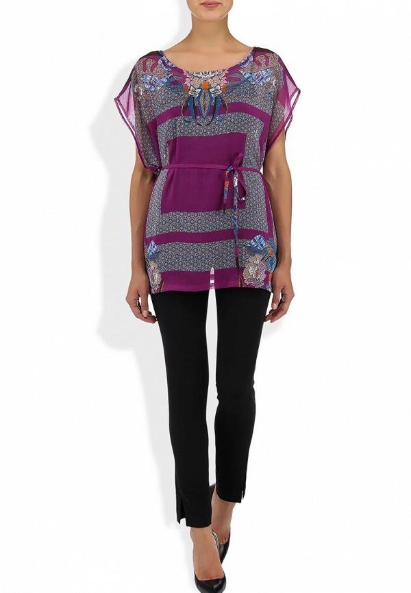 Фото 4 - Блузу Sela фиолетового цвета