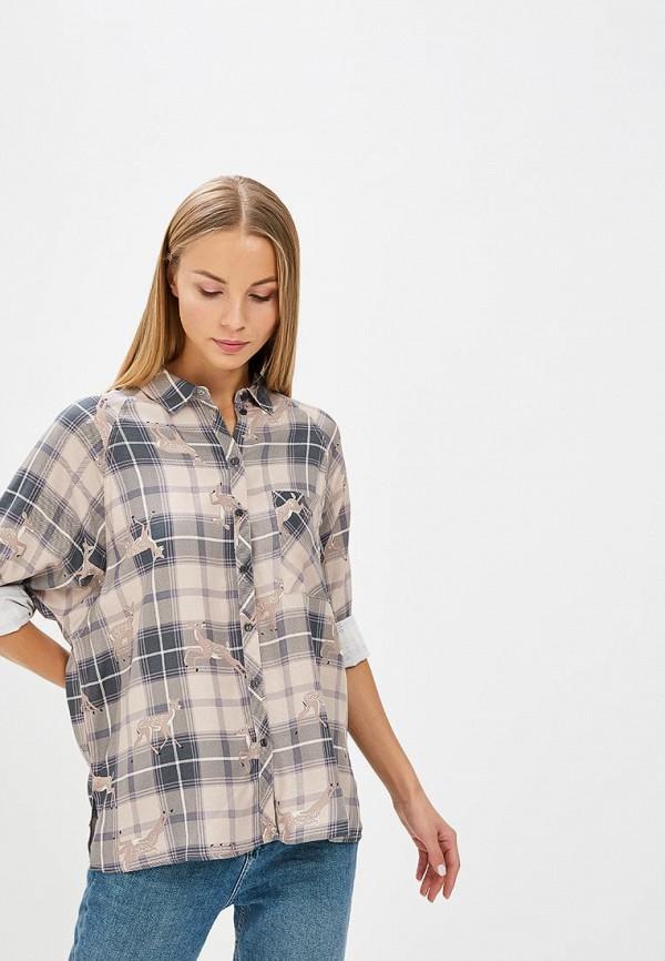Рубашка Sela Sela SE001EWBXCD9 рубашка sela sela se001ewbxcd9