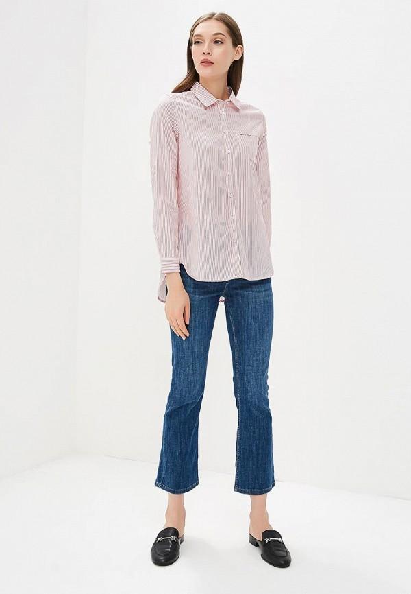 Фото 2 - женскую блузку Sela розового цвета