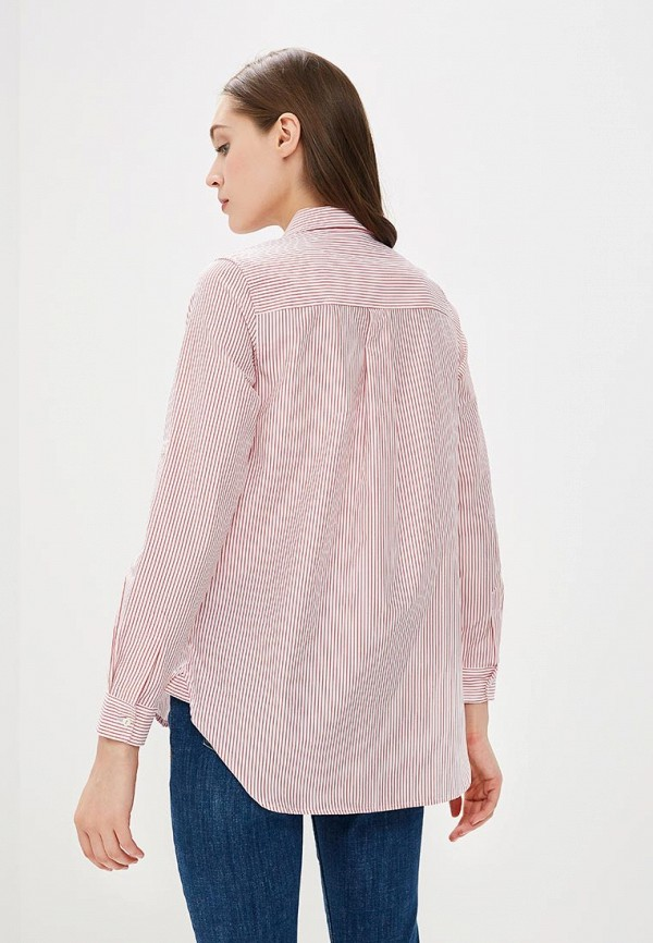 Фото 3 - женскую блузку Sela розового цвета