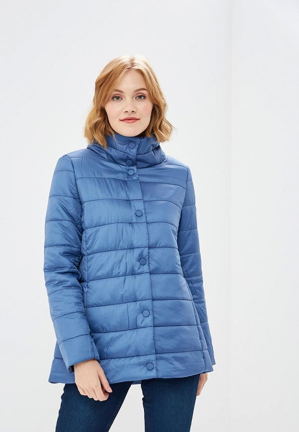 женская куртка sela, синяя
