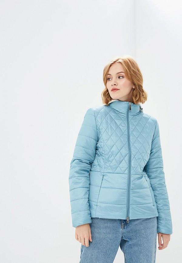 женская куртка sela, голубая