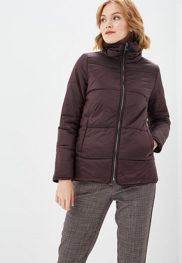 женская куртка sela, коричневая