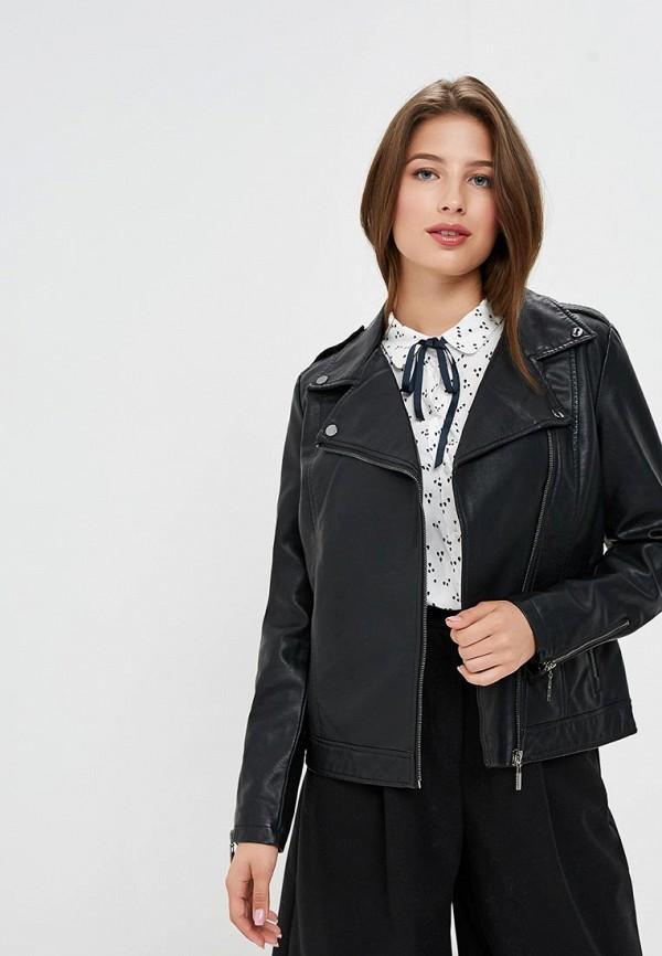 Купить Куртка кожаная Sela, SE001EWBXCJ2, черный, Осень-зима 2018/2019