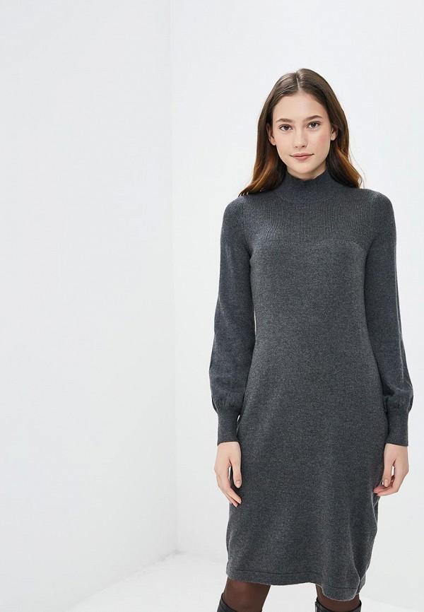 женское платье sela, серое