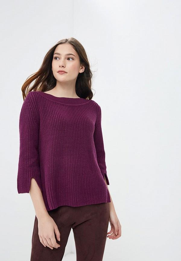 женский джемпер sela, фиолетовый