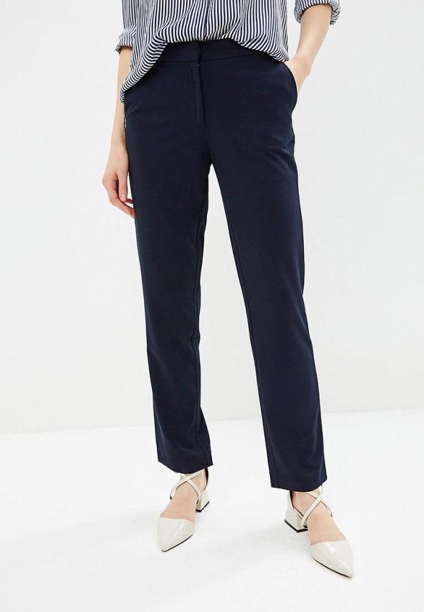 женские классические брюки sela, синие