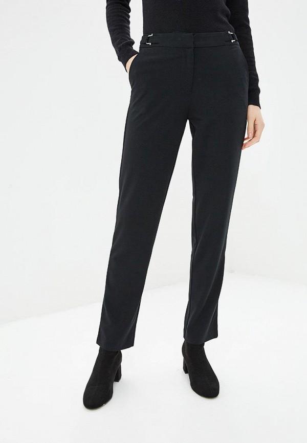 женские классические брюки sela, черные