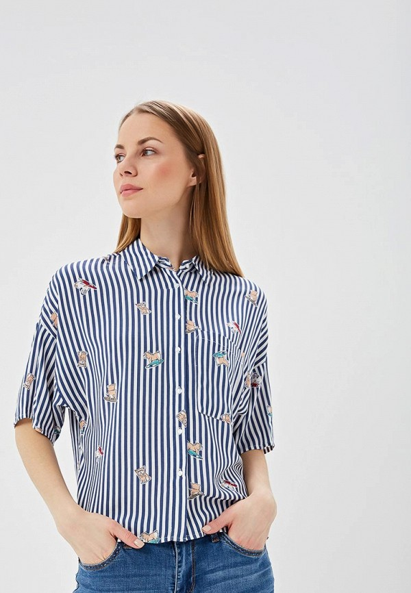Рубашка Sela Sela SE001EWDTTJ1 рубашка sela sela se001embxbb2