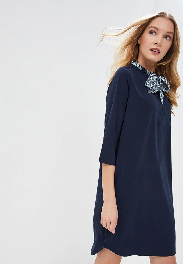 Платье Sela Sela SE001EWDTTN8 12storeez жакет двубортный из облегченной шерсти сиреневый