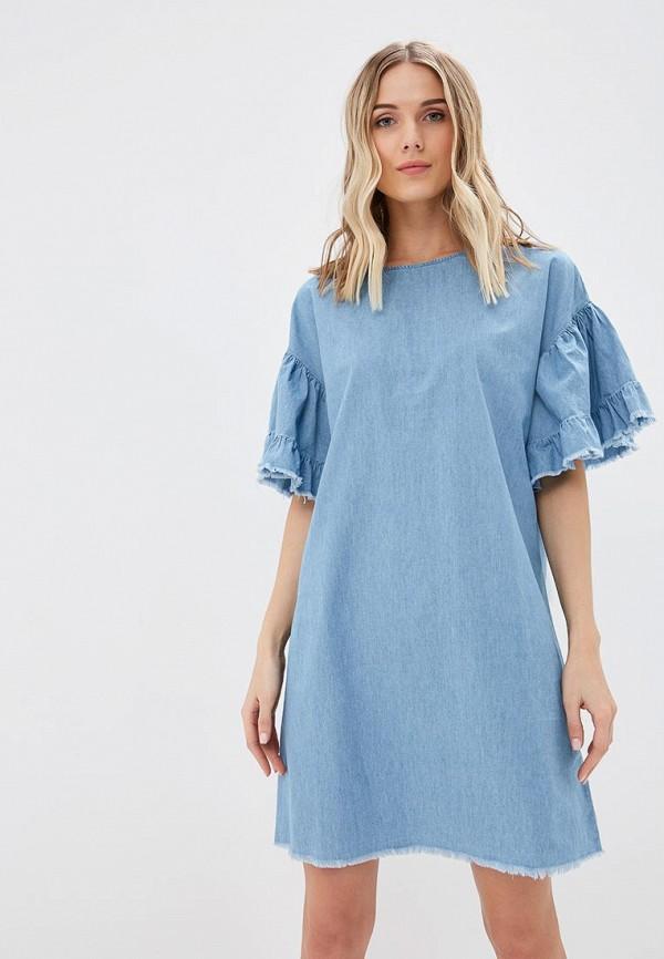 Платье джинсовое Sela Sela SE001EWDTTO9 цена