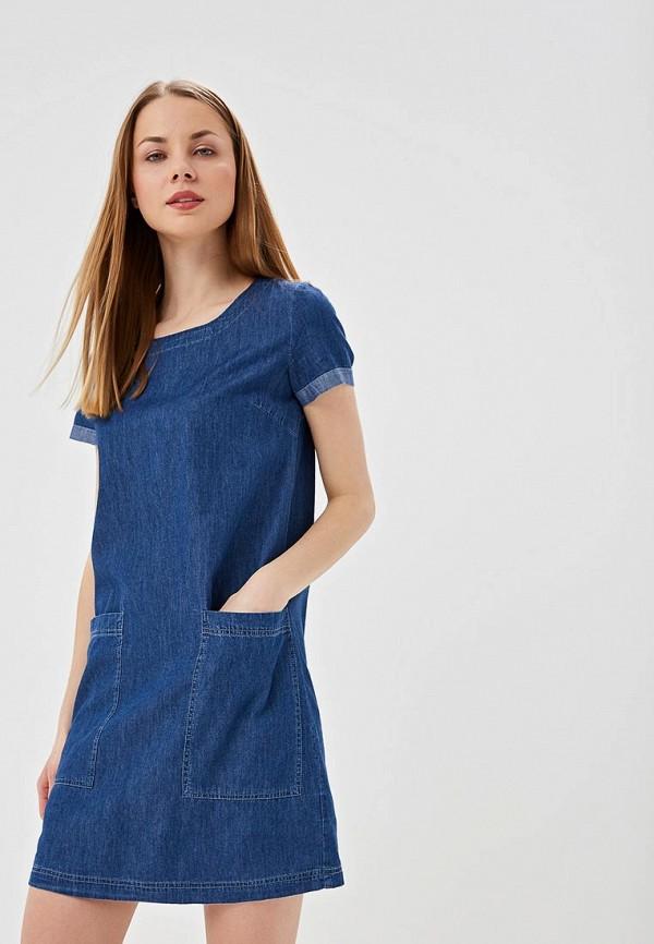 цены Платье джинсовое Sela Sela SE001EWDTTP0