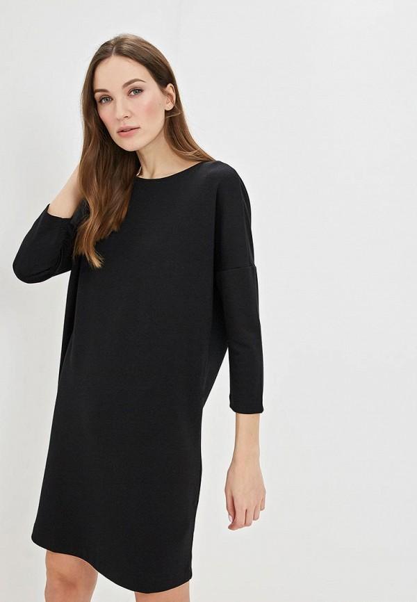 Купить Платье Sela, se001ewdttp3, черный, Весна-лето 2019