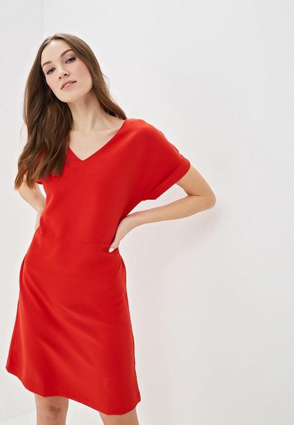 Купить Платье Sela, se001ewdtts4, красный, Весна-лето 2019