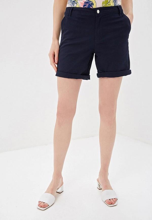 женские повседневные шорты sela, синие
