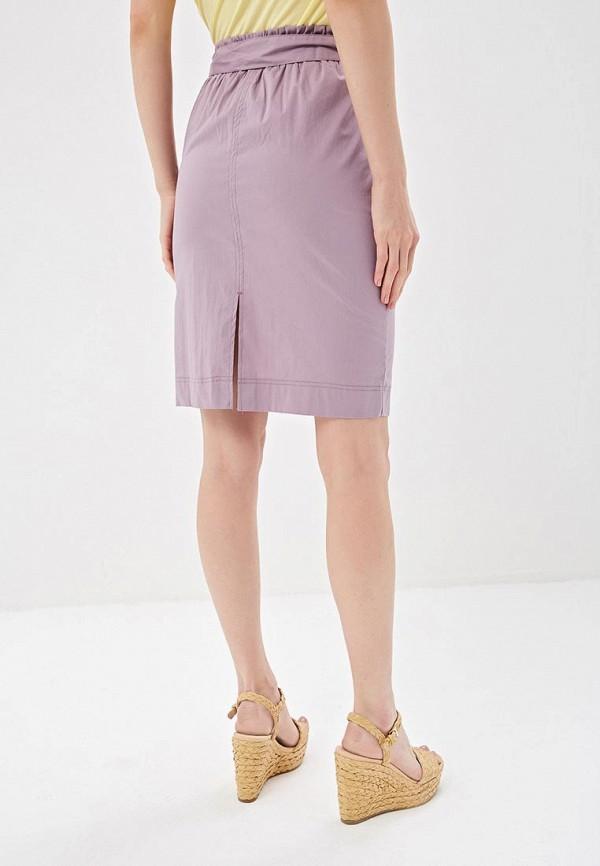 Фото 3 - женскую юбку Sela фиолетового цвета