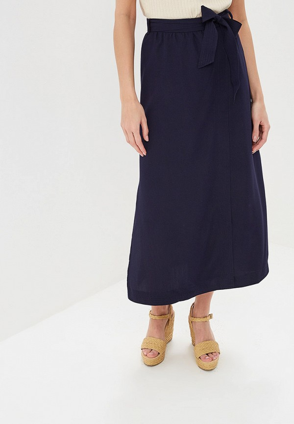 женская юбка sela, синяя