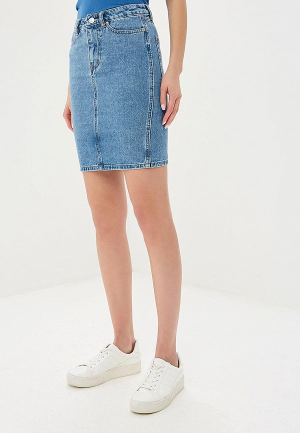 цена на Юбка джинсовая Sela Sela SE001EWDTUO7