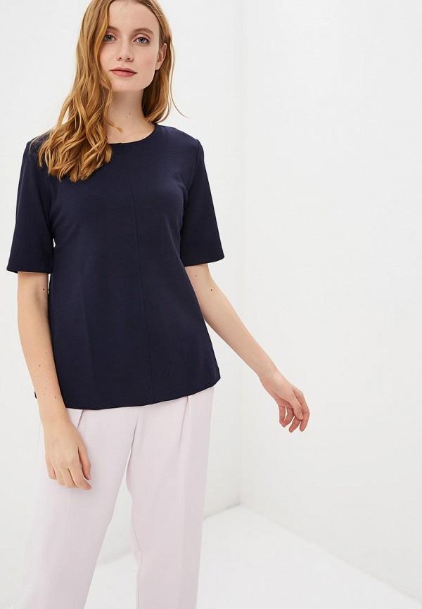 женская блузка sela, синяя