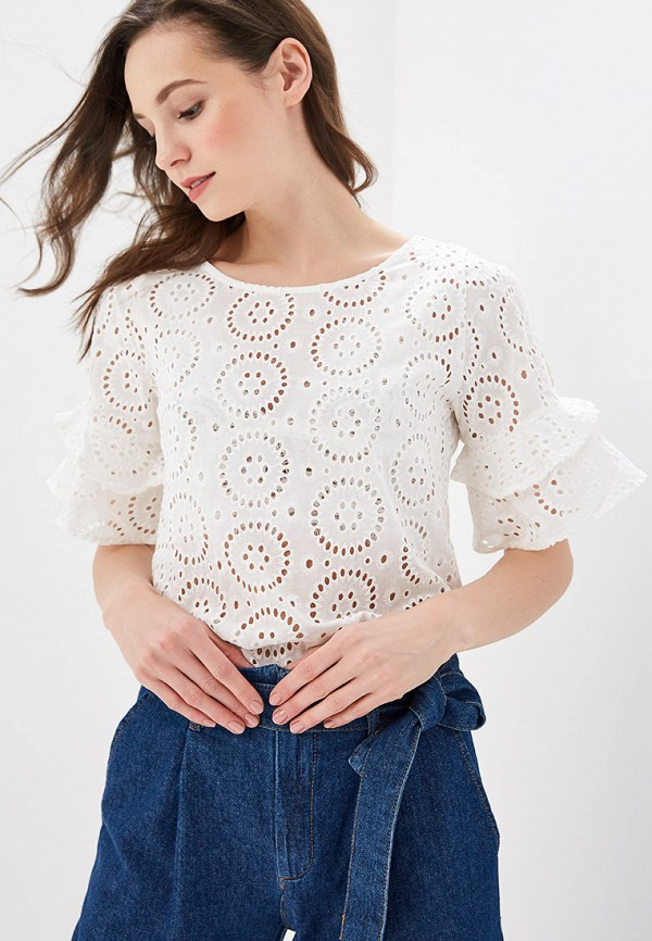 женская блузка sela, белая