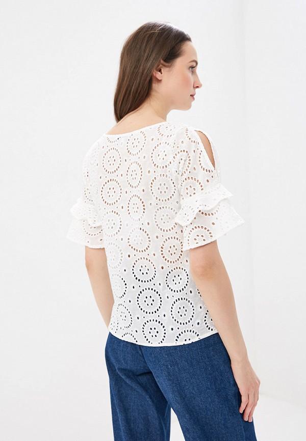 Фото 3 - женскую блузку Sela белого цвета