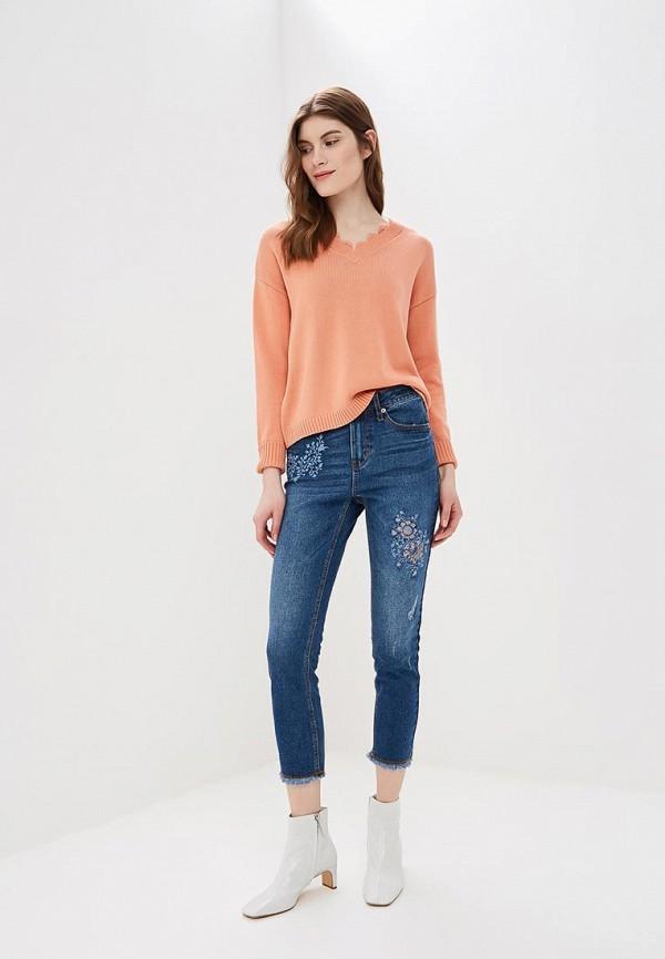Фото 2 - женские джинсы Sela синего цвета