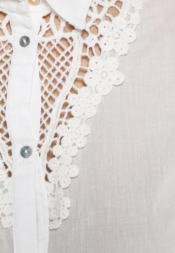 Фото 2 - женскую блузку Sela белого цвета