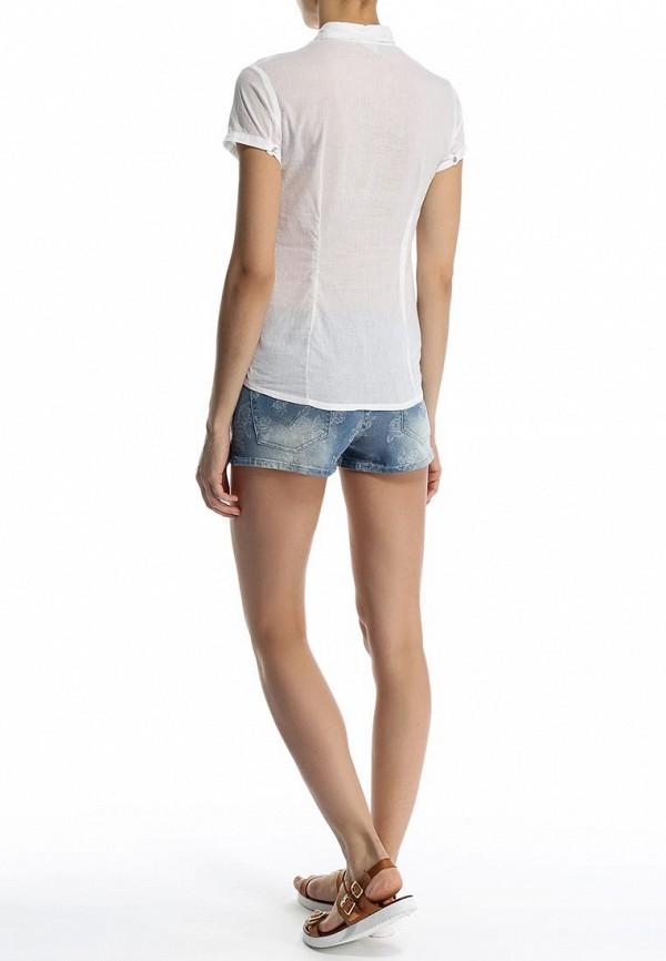 Фото 4 - женскую блузку Sela белого цвета
