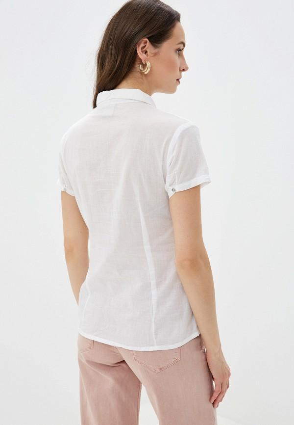 Фото 7 - женскую блузку Sela белого цвета
