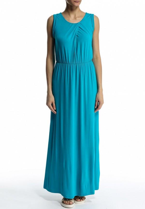 Фото 3 - женское платье Sela голубого цвета