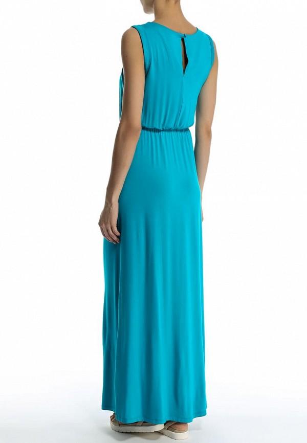 Фото 4 - женское платье Sela голубого цвета