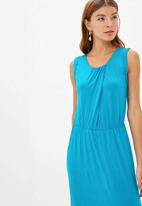 Фото 6 - женское платье Sela голубого цвета