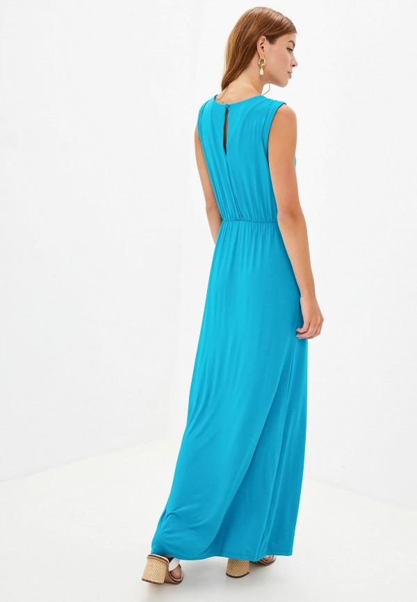 Фото 7 - женское платье Sela голубого цвета