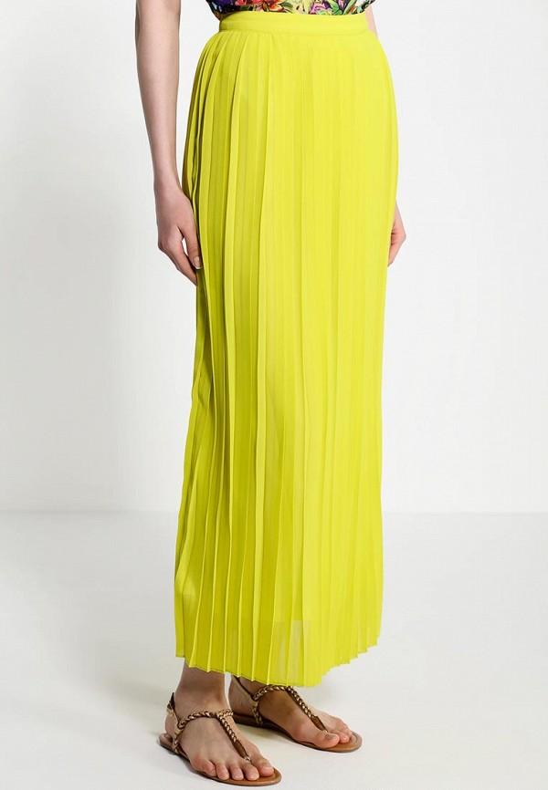 Фото 5 - женскую юбку Sela зеленого цвета