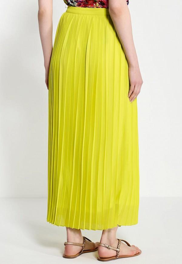 Фото 4 - женскую юбку Sela зеленого цвета