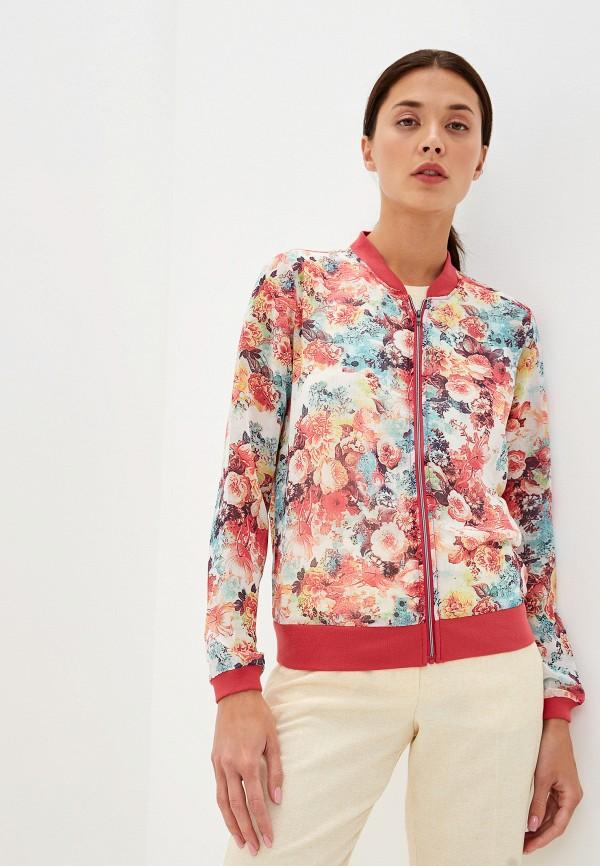 женская куртка sela, разноцветная
