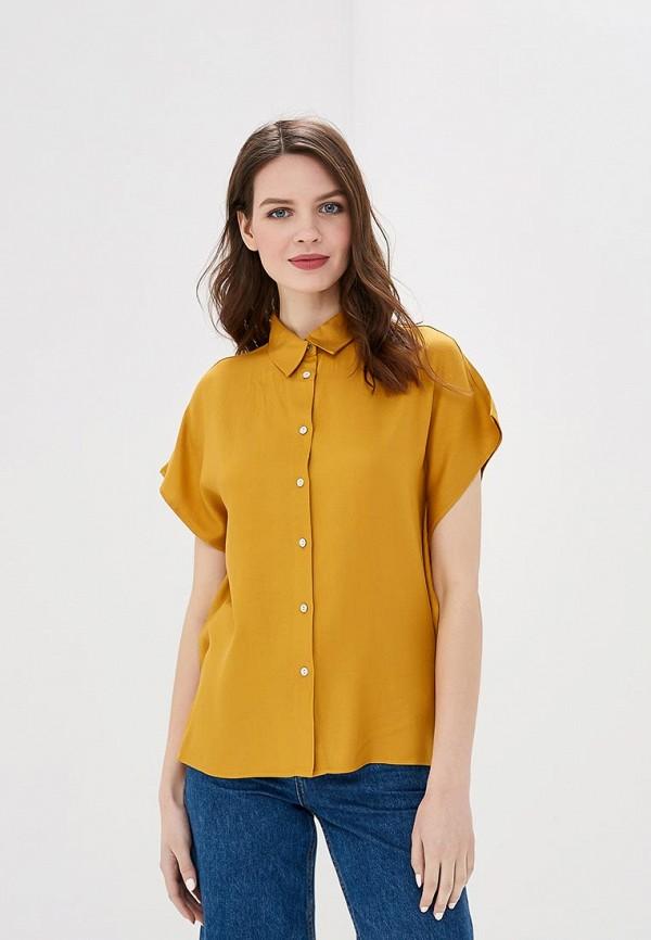 женская блузка sela, желтая